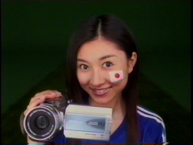 日本ビクター広告(TVCM・新聞・雑誌)フェイスペインティング制作