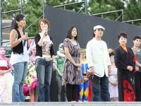 ジャパンフェイスペインティング&ボディアートショウ2009in八景島にて、コンテストの審査員たち