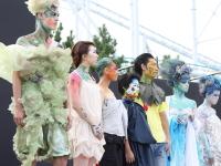 ジャパンフェイスペインティング&ボディアートショウ2009in八景島にて、コンテストの様子