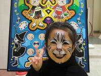 ハロウィンフェイスペインティングの画像 横浜ポルタ デコデコ