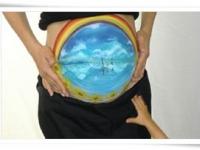 「天空の鏡」ウユニ塩湖 マタニティペイント