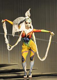 Body Decoration Art Show 2011 in Tokyo