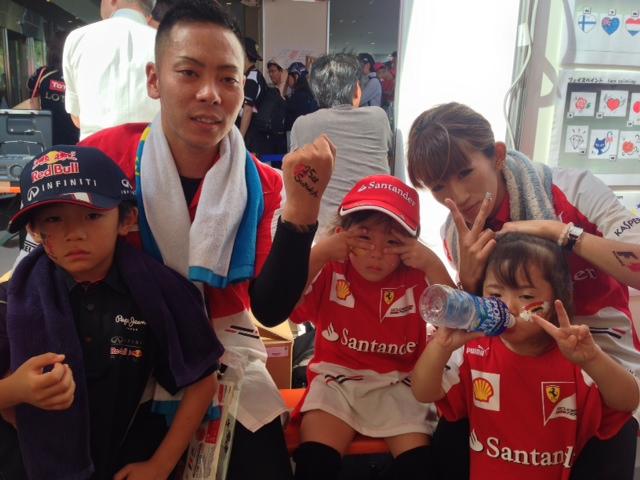 鈴鹿サーキット F1日本グランプリ