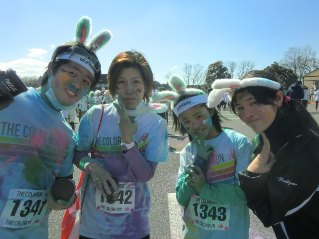 THE COLOR RUN・MINIブース