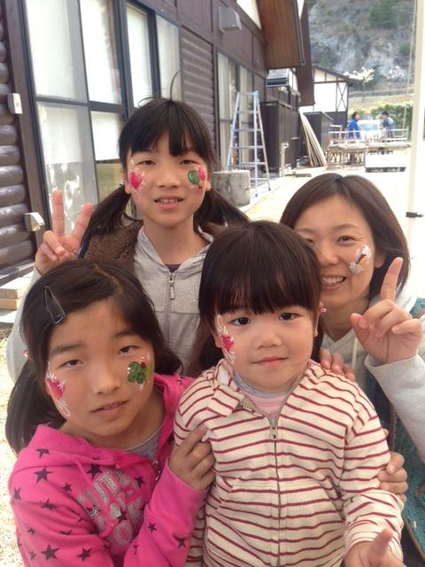 青川峡キャンピングパーク・11thアニバーサリーキャンプフェス・フェイスペインティング