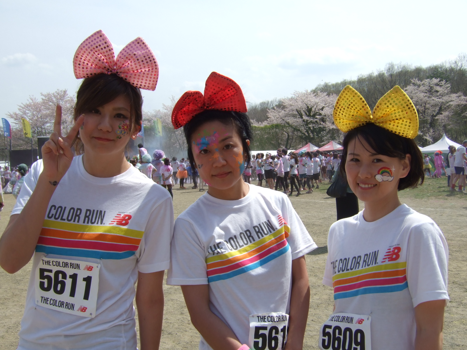 The Color Run Japan in さがみ湖
