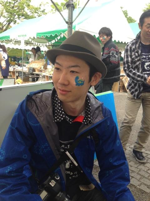 アースデイ東京2014フェイスペインティング・デコデコの画像