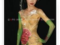 深井仁美 ボディペイント作品 BodyPaintingShow2012Summer 「Heritage」