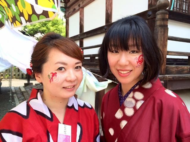 京おんなのおけいこマルシェ お寺でおけいこつまみ食い