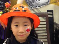 東急ハンズ広島店フェイスペインティングの画像