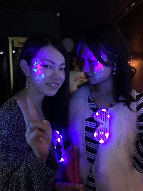 ジラフ大阪☆NEON GLOW NIGHT