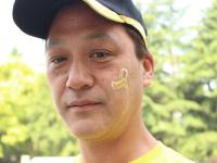 ゴールドリボンウオーキング2015の画像