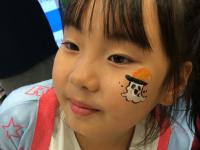 Vispo YOKOSUKA /ハロウィンフェイスペインティングの画像