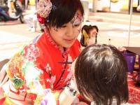 ヨコハマ大道芸2016フェイスペインティング「デコデコ」の画像