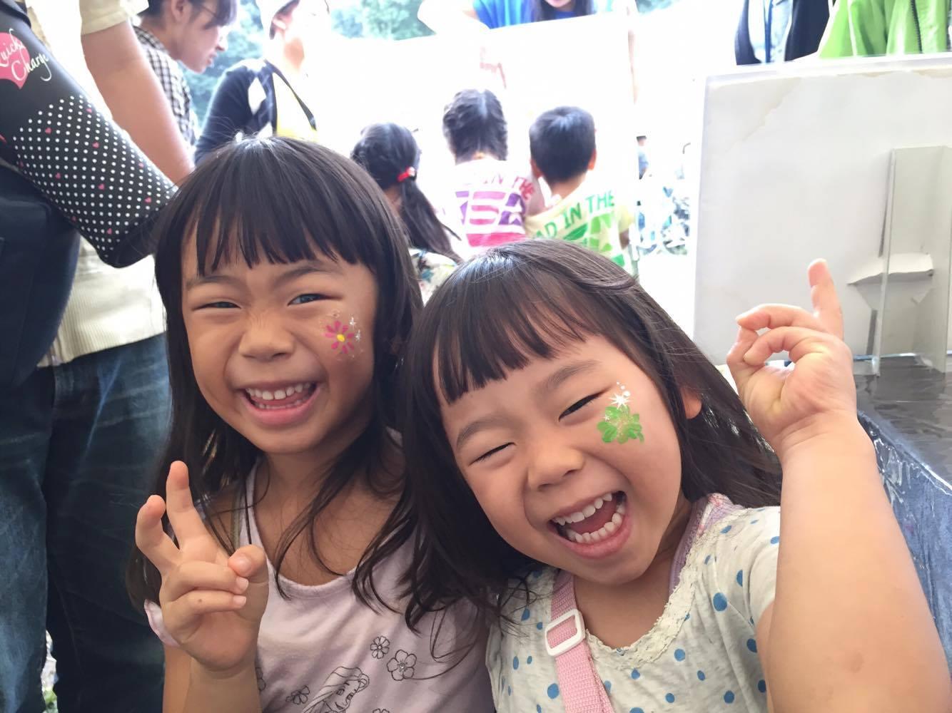 横浜市緑区民まつり/フェイスペインティングブース