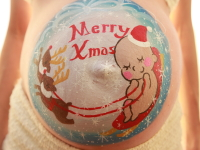 マタニティペイント「クリスマス」の画像