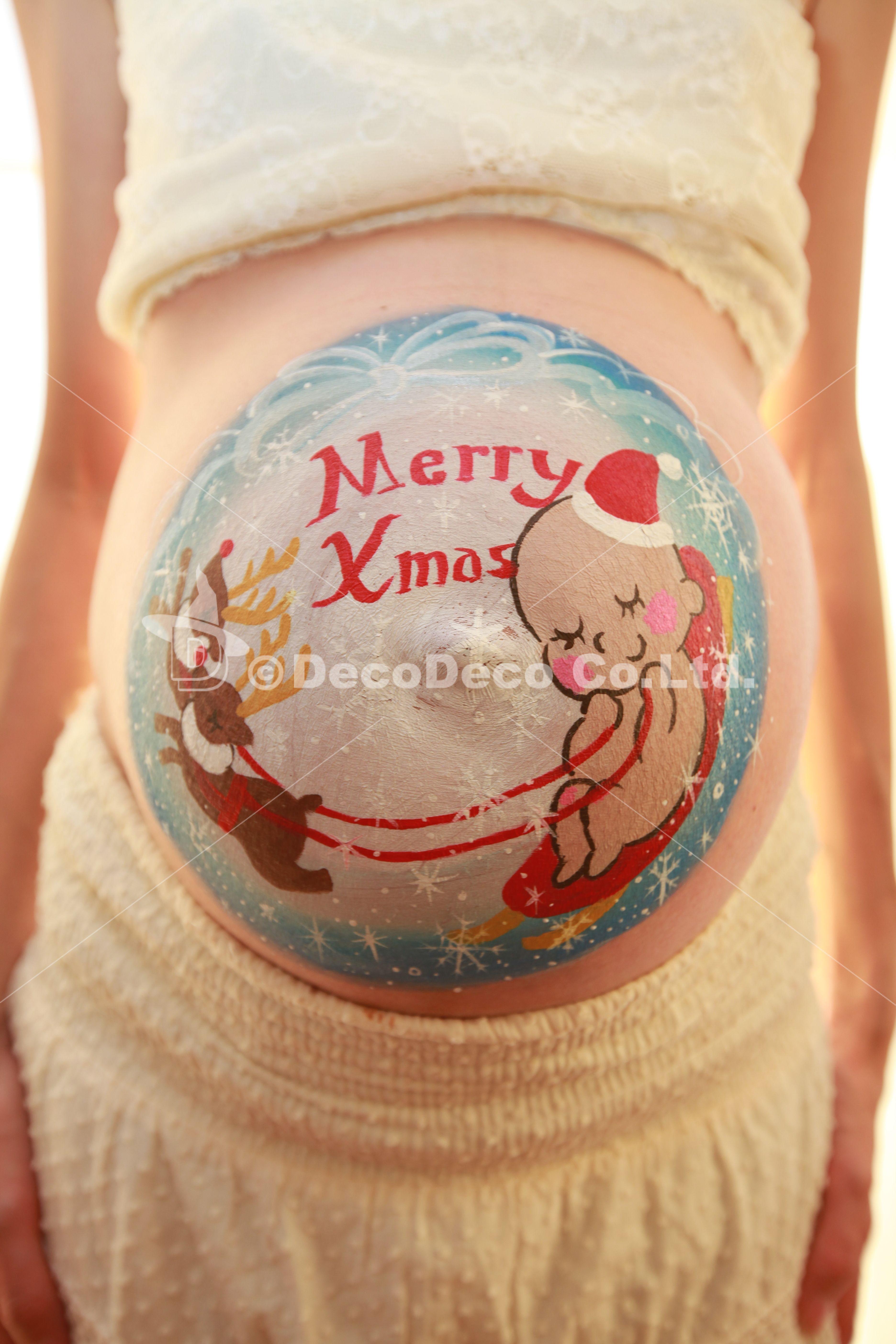マタニティペイント「クリスマス」