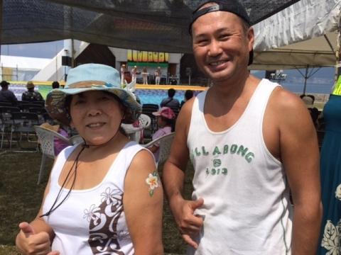 ハワイアンフェスティバルinOBAMA