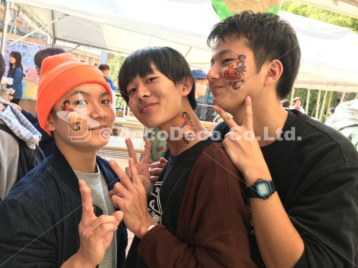 京都橘大学 橘祭 / フェイスペインティング