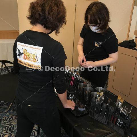「真・女神転生III NOCTURNE HD REMASTER」TVCMボディペインティング制作の画像